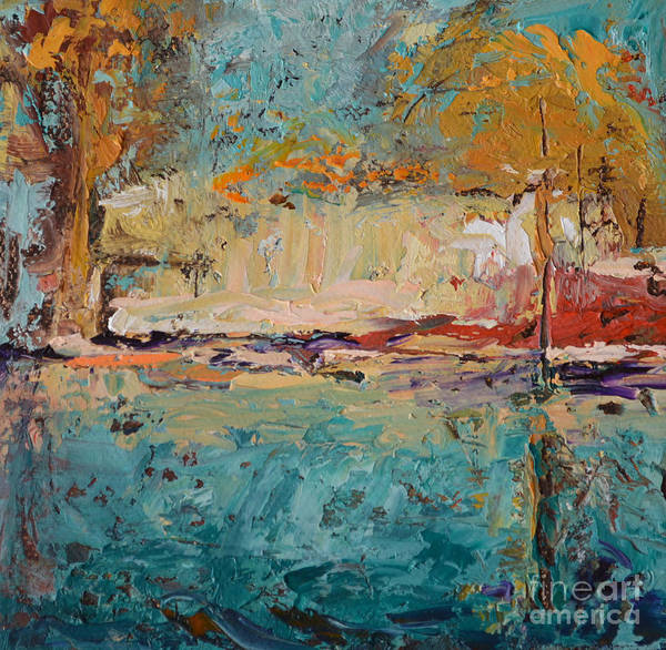 Wall Art - Painting - Waterway by Patricia Caldwell