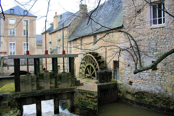 Photograph - Waterwheel In Carentan by Gordon Elwell