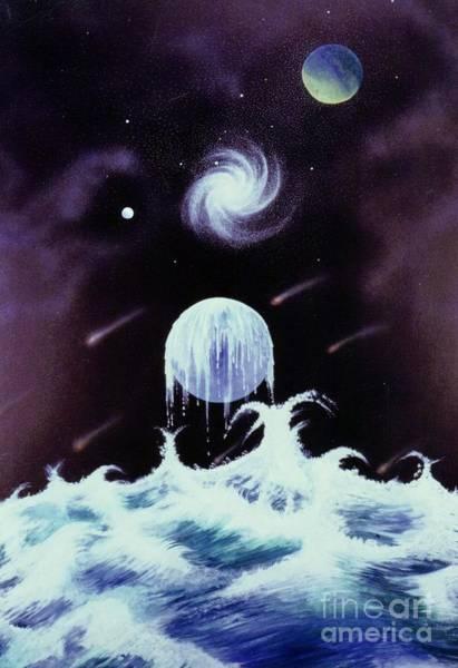 Painting - Waterworld II by David Neace