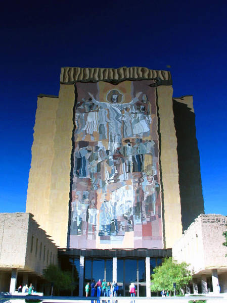 Photograph - Watery Touchdown Jesus 2 by Rick Locke