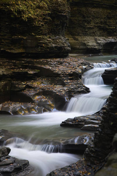 Photograph - Watkins Glen State Park by Kim Aston