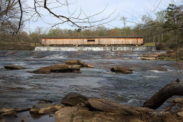 Photograph - Watson Mill Bridge by Mike Fitzgerald