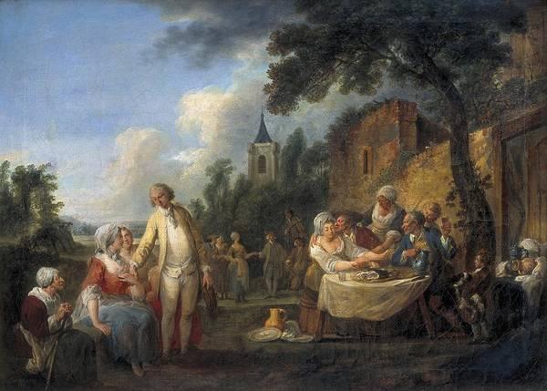 Wall Art - Photograph - Watteau De Lille, Louis-joseph Watteau by Everett