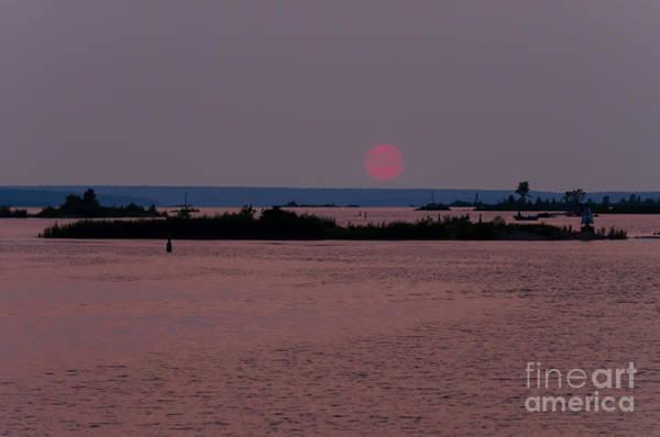 Photograph - Waubaushene Sunset by Les Palenik