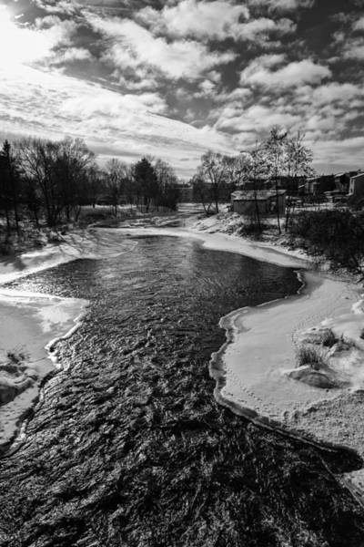 Wall Art - Photograph - Waupaca In The Winter by Thomas Young