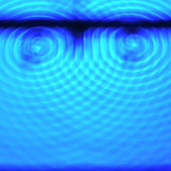 Wall Art - Photograph - Wave Interference by Science Photo Library