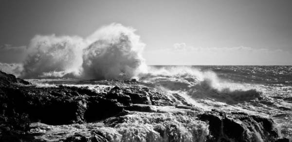 Photograph - Wave On Rocks by Michael Hope