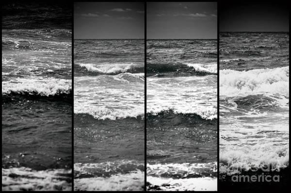 Photograph - Wave Panels by John Rizzuto