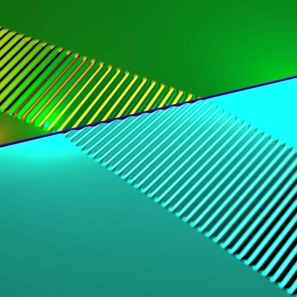 Index Photograph - Wave Refraction by Russell Kightley
