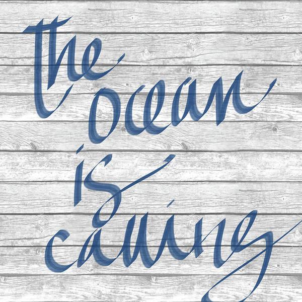 Coastal Digital Art - Waves And Ocean I by Sd Graphics Studio