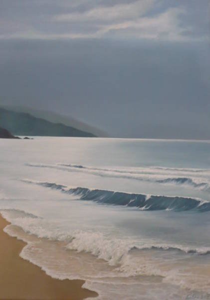 Painting - Waves by Caroline Philp