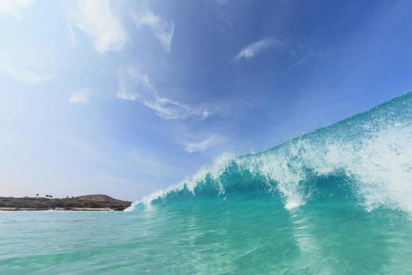 Big Island Photograph - Waves Crashing On Beach by Cultura Exclusive/stuart Westmorland