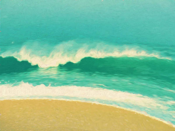 Painting - Waves by Douglas MooreZart