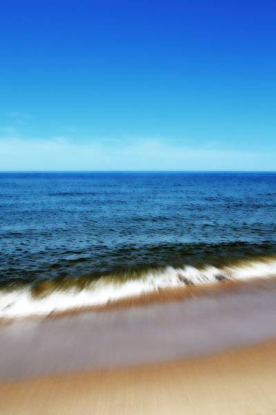 Holland State Park Photograph - Waves In Motion by Michelle Calkins