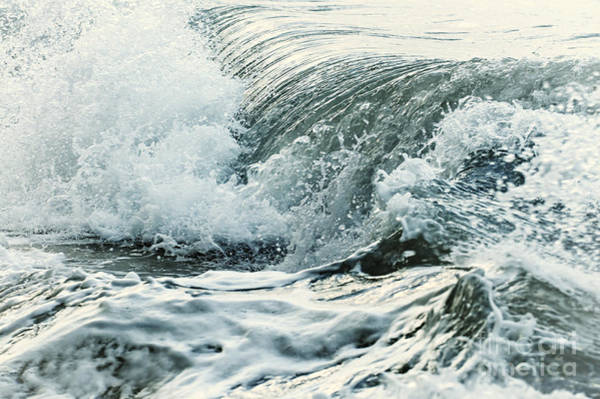 Wall Art - Photograph - Waves In Stormy Ocean by Elena Elisseeva
