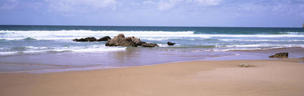 Peacefulness Photograph - Waves In The Sea, Algarve, Sagres by Panoramic Images