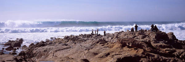 Carmel By The Sea Photograph - Waves In The Sea, Carmel, Monterey by Panoramic Images