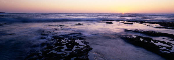 Wall Art - Photograph - Waves In The Sea, Childrens Pool Beach by Panoramic Images