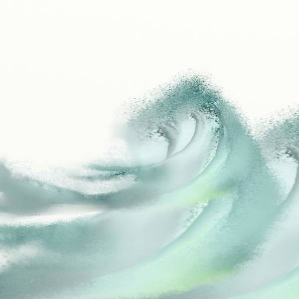 Market Place Mixed Media - Waves by Len YewHeng