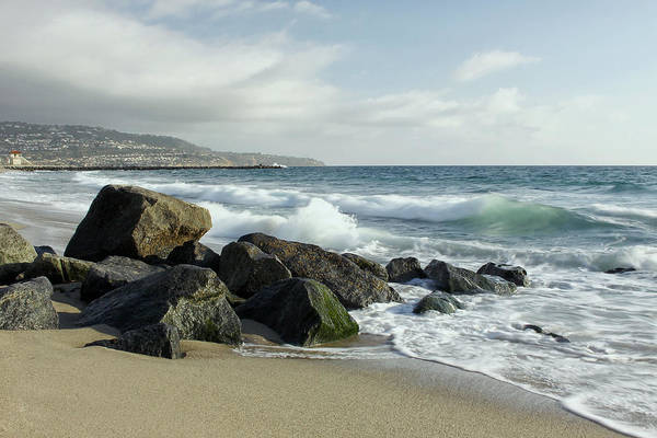 Photograph - Waves - Manhattan Beach by Kim Hojnacki