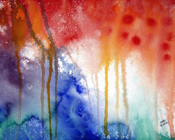 Waves Of Emotion Art Print