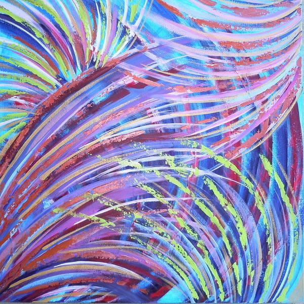 Painting - Waves Of Glory by Deborah Brown Maher