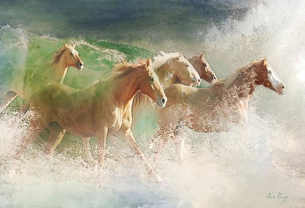 Waves Of God's Glory Art Print