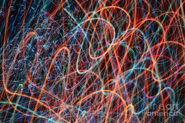 Photograph - Waves Of Light 1 by Gerald Grow