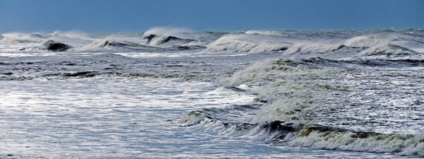 Waves Off Sandfiddler Rd Corolla Nc Art Print