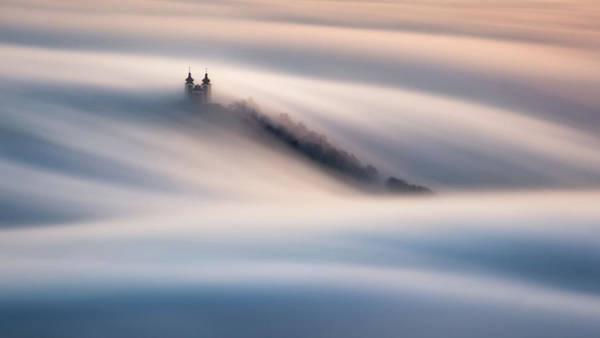 Cathedral Photograph - Waves by Peter Kov??ik