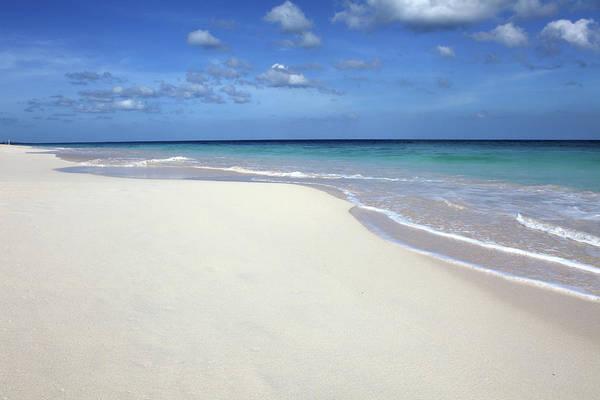 Bermuda Photograph - Waves Washing On Tropical Beach by Daniel Allan