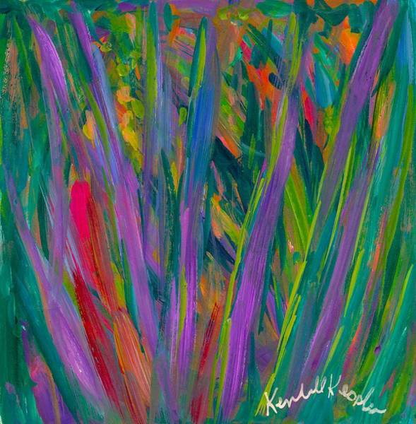 Painting - Waving by Kendall Kessler