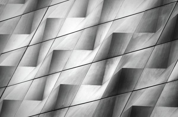 Steel Photograph - Wavy II by Hans-wolfgang Hawerkamp