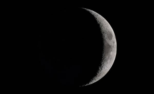 Lola Photograph - Waxing Crescent Moon by Nasa's Scientific Visualization Studio/science Photo Library