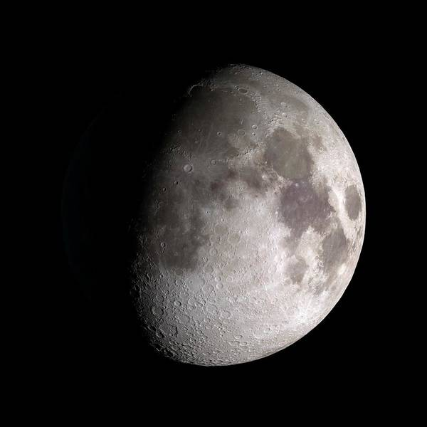 Lola Photograph - Waxing Gibbous Moon by Nasa/gsfc-svs/science Photo Library