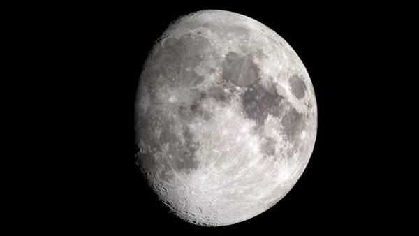 Lola Photograph - Waxing Gibbous Moon by Nasa's Scientific Visualization Studio/science Photo Library