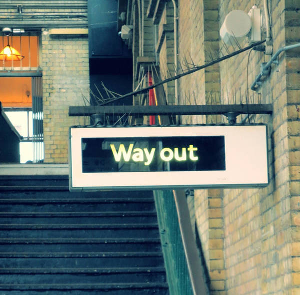 Photograph - Way Out by Gia Marie Houck