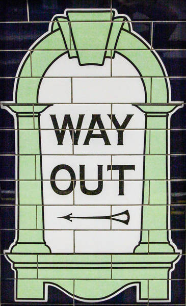 Photograph - Way Out by Ross Henton