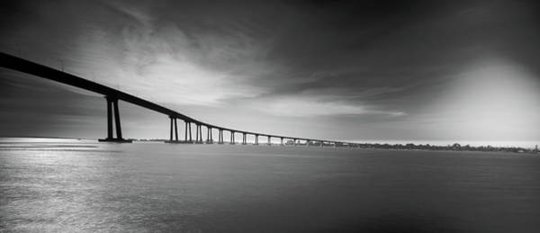 Coronado Photograph - Way Over The Bay by Ryan Weddle