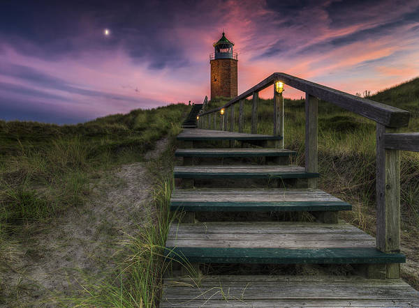 Wall Art - Photograph - Way To Lighthouse by Thomas Siegel