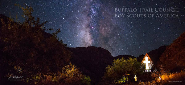 Wall Art - Photograph - Way To The Chapel - Pano by Aaron Bedell