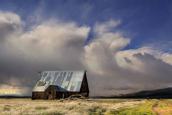 Wall Art - Photograph - Wayman Barn In Adin by Kathleen Bishop