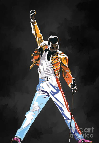Glorious Wall Art - Painting - We Are The Champions  by Andrzej Szczerski