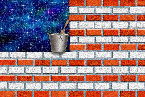 Wall Art - Digital Art - We Built This by Cristophers Dream Artistry