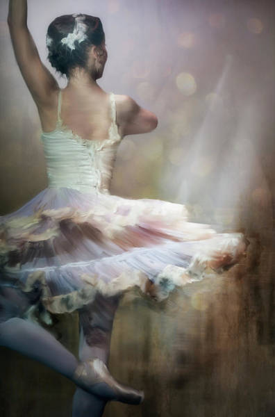 Ballerina Photograph - We Danced To A Whispered Voice... by Charlaine Gerber