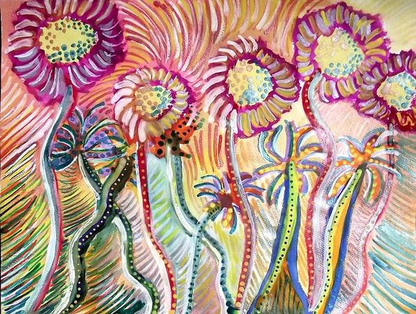 Dandilions Painting - We Had A Dream by Dandilion Song