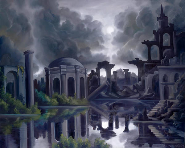 Painting - We Lost Our Empire A Long Time Ago by James Christopher Hill