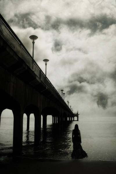 Gloomy Wall Art - Photograph - We Who Fell In Love With The Sea by Cambion Art
