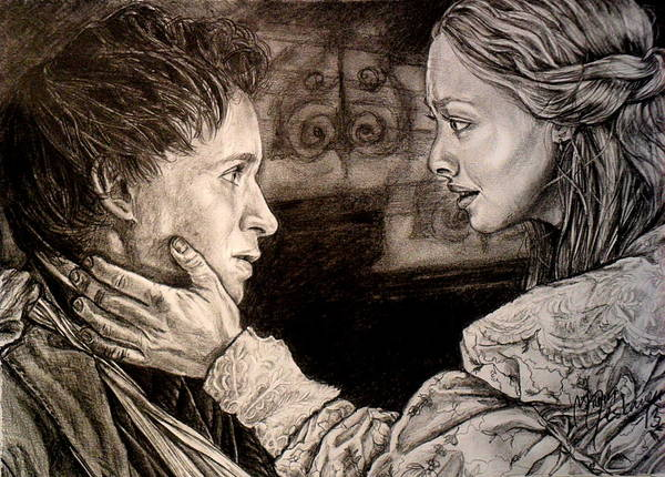 Miserable Drawing - We Will Be Together by Maren Jeskanen