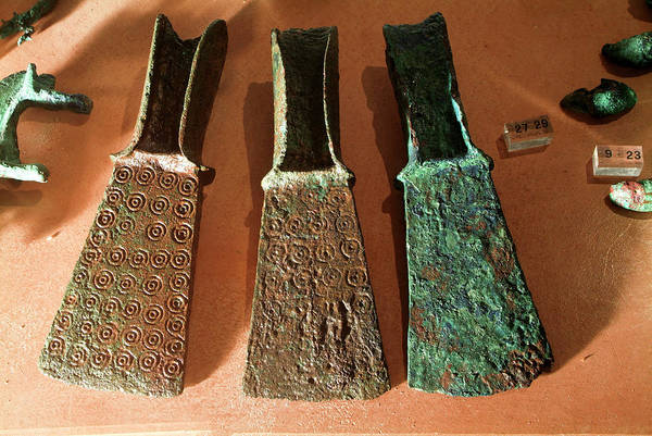Saint Augustine Photograph - Weapons Of An Iron Age Ruler by Marco Ansaloni / Science Photo Library